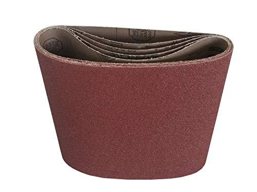 8 x 19 Floor Sanding Belts Aluminum Oxide Cloth Belts 10 Pack 80 Grit