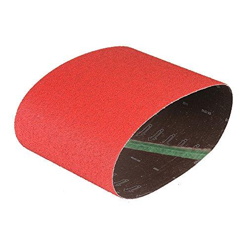 Mercer Industries 433040 Floor Sanding Belt Ceramic 7-78 x 29-12 Hummel Grit 40 5 Pack