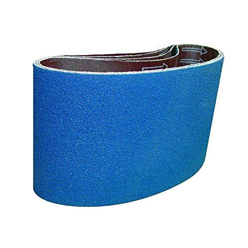 Mercer Industries 438112060 Floor Sanding Belt Zirconia 11-78 x 29-12 Galaxy Bd-12 Grit 60 10 Pack