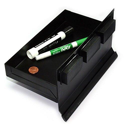 CMS MagneitcsMagnetic Tool Tray 825x45x125 Black Tool Organizer