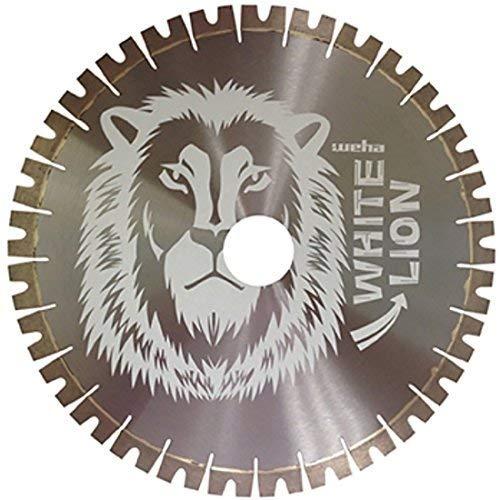 Weha White Lion Bridge Saw Blade Diamond Blade for Quartzite Granite ES - 20 Inch x 20mm