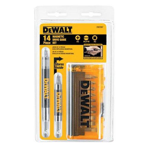 DEWALT Screwdriver Bit Set Magnetic Drive Guide 14-Piece DW2097CS