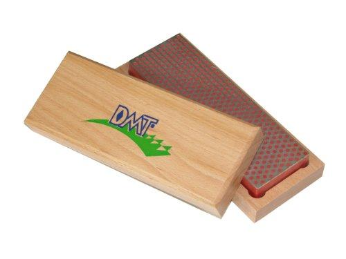 DMT W6F  6-Inch Diamond Whetstone Sharpener Fine with Hardwood Box