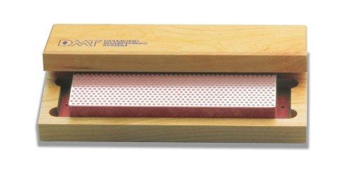 DMT W8F  8-Inch Diamond Whetstone Sharpener Fine with Hardwood Box