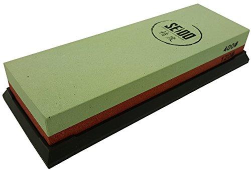 Seido 120400 Grit Combination Corundum Whetstone Knife Sharpening Stone  Premium Waterstone Knife Sharpener