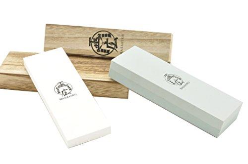 Handmade Sword - Masahiro Double Side Whetstone Rough 400 Medium 1000 Fine 30002pcs Swords Blade Sharpening Stone