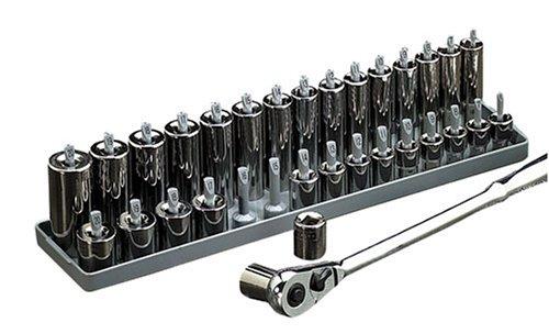 Hanson Global Inc 1202 12-Inch Drive Metric Socket Holder