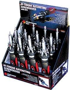 Performance Tool W38937 High Torque Ratchet Screwdriver