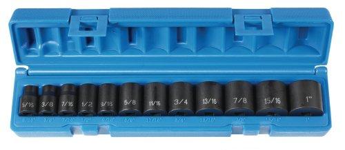 Grey Pneumatic 1213 38 Drive 12-Piece Standard Socket Set