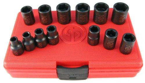 Chicago Pneumatic SS3113 38 Drive 13 Piece Metric Impact Socket Set