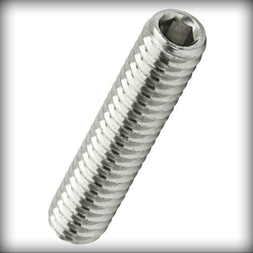 6-32 x 1-inch Socket Set Screws Set Allen Drive Cup Point Stainless Steel Pack of 1000 Warranity by Pr-Merchant