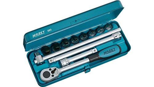 Hazet 985 Screwdriver socket set 12 Piece