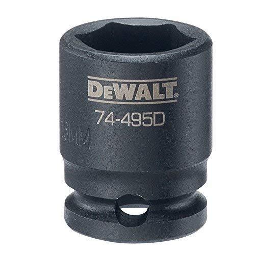 DEWALT 38 Drive Impact Socket 6 PT 16MM