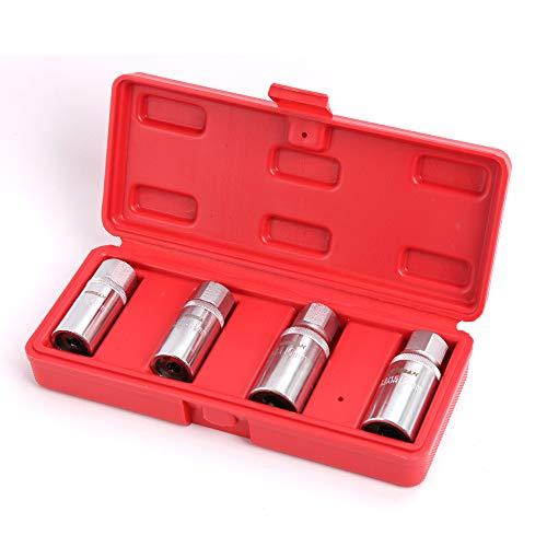 4 pc Metric Socket Stud Screw Remover Extractor Installer Roller Bearing 6 8 10 12mm