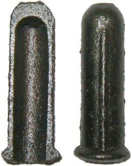 Cast Iron Split Socket Insert for Large Casters Inside Diameter 716 - Furniture Socket Hardware Stem Caster Caster Sleeve Inserts for Wood Castor on Furniture  LS-140