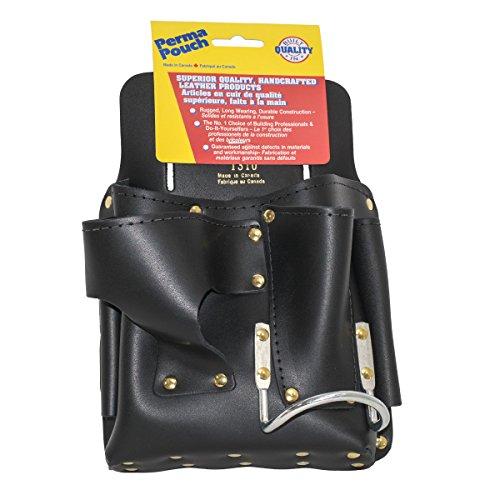 Perma Pouch Top Grain Latigo Leather Drywall Tool Pouch