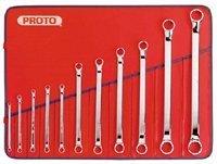Stanley Proto J1100S-M 11 Piece 12 Point Metric Box Wrench Set by Stanley-Proto