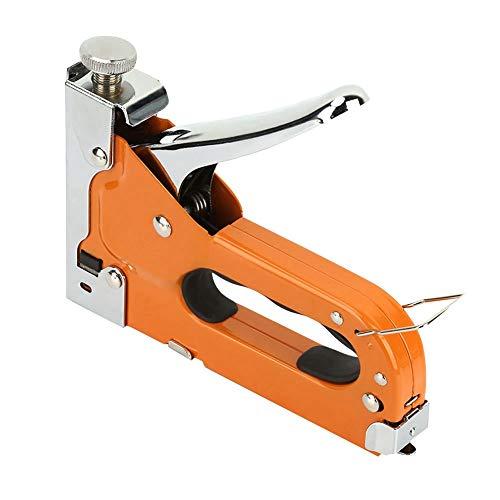 Woodwork Manual Nail Staple Gun U-shape Heavy Duty Manual Nail Gun Nailer with 600pcs Nails