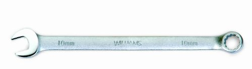Williams 11510 12 Point Combination Wrench 10mm Satin Chrome Finish