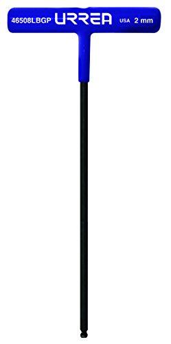 Urrea 46512LBGP Ball Hex Key T-–Handle 9-Inch Long Wrench