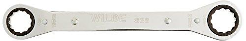 Wilde Tool 868BB Metric Ratchet Box Wrench 19mm x 21mm