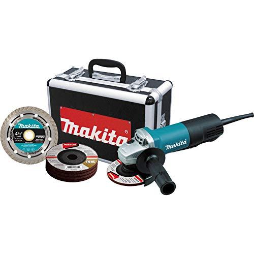 Makita 9557PBX1 4-12 Paddle Switch Cut-OffAngle Grinder