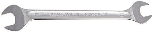 Stahlwille 10-13X15 Steel Double Open End Spanner 13mm x 15mm Diameter 190mm Length 35mm Width