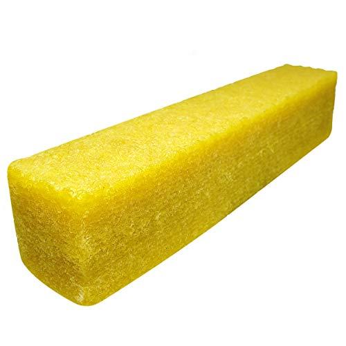 Sackorange 1-12 x 1-12 x 8 Cleaning Eraser Stick for Abrasive Sanding Belts Natural Rubber Eraser for Cleaning Sandpaper Rough Tape Skateboard Shoes and Sanding Discs