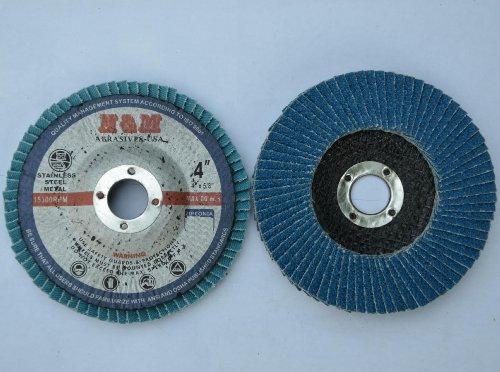 10pcs Premium FLAP DISCS 4 x 58 Zirconia 80 grit Sanding Wheel  Angle Grinder tool