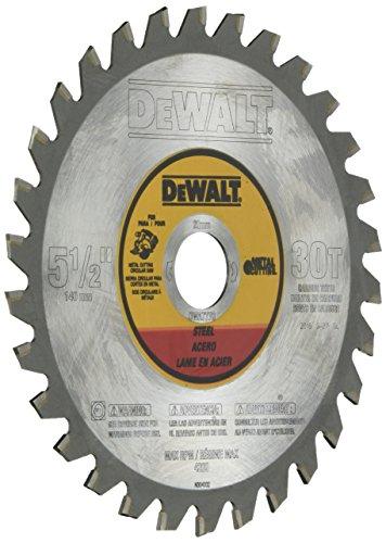 DEWALT DWA7770 5-12-Inch Metal Cutting Blade