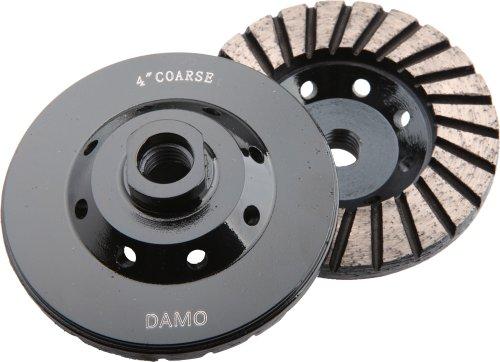 4-Inch Diamond Turbo Grinding Cup Wheel Coarse Grit for Concrete  Granite Floor