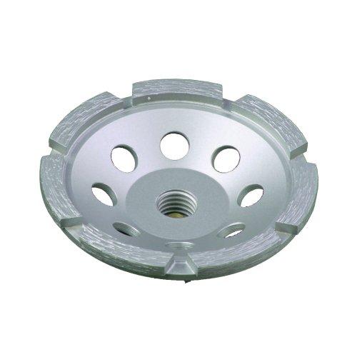 Lackmond SPPGC45SN 45-Inch Single Row Segmented Diamond Grinding Cup Wheel with 58-11 Nut