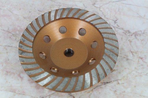 TEMO 6 inch 58 DIAMOND TURBO segment Grinding Cup Wheel 15A10