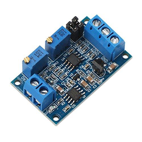 DROK Current to Voltage Converter Module Amp to Volt 0 4-20mA to 0-33V 0-5V 0-10V Voltage Transmitter Signal Converter Board