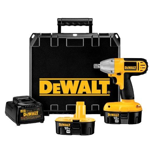 DEWALT DC821KA 18-Volt 12-Inch Compact Impact Wrench