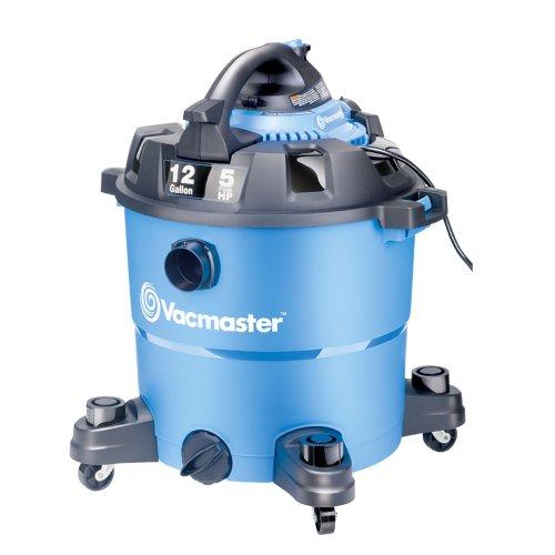 Vacmaster 12 Gallon 5 Peak HP WetDry Vacuum with Detachable Blower VBV1210
