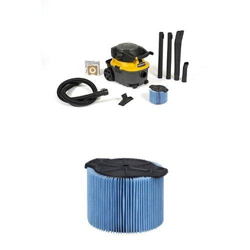WORKSHOP WetDry Vacs WS0400DE Detachable Blower Shop Vacuum with Fine Dust Filter