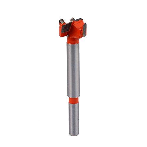 uxcell Carpentry 19mm Drilling Diameter Carbide Tip Hinge Boring Bit Wood Cutting Tool