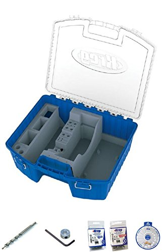 Kreg Pocket Hole Jig KTC-55 organizer kit for K4MS K4 k5 K5 MS Clamps Screws