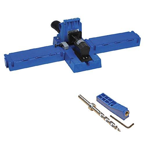 Kreg Jig K5 Pocket Hole Jig with 6-inch Mini Kreg MKJKIT Jig Kit FREE