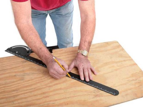 Angle Saw and Router Guide