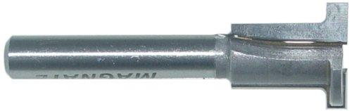 Magnate 6106 T-Slot Router Bit - 18 Kerf 58 Large Diameter 38 Small Diameter