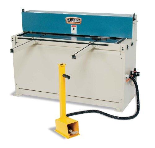 Baileigh SH-5216A Sheet Metal Air Pneumatic Power Shear 16-Gauge Mild Steel Capacity 52 Length