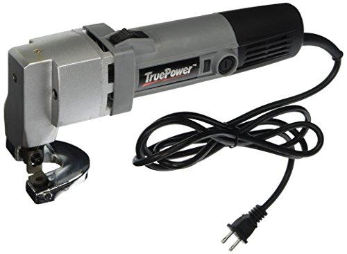 TruePower 01-0101 18 Gauge Heavy Duty Electric Sheet Metal Shear Tin Snips Cutter Nibbler