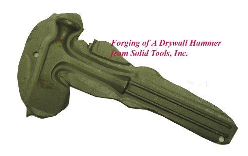 Forging of Drywall Hammer