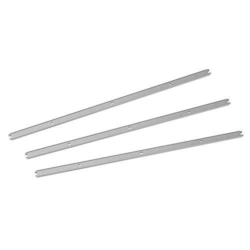 POWERTEC 128281 13-Inch HSS Planer Knives for Ridgid R4331 Set of 3
