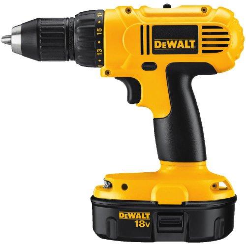 DEWALT DC759KA 18-Volt NiCad 12-Inch Cordless DrillDriver Kit