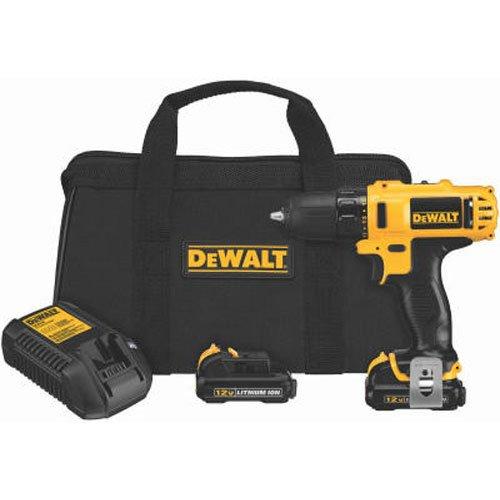 DEWALT DCD710S2 12-Volt Max 38-Inch Drill Driver Kit