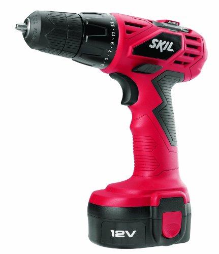 SKIL 2240-01 12-Volt 38-Inch DrillDriver Kit