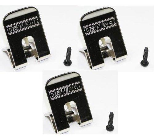 DeWalt 659916-00SV Belt ClipHook 3-Pack for 18V Impact Driver and Drills